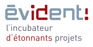 logo evident incubateur BioDemain